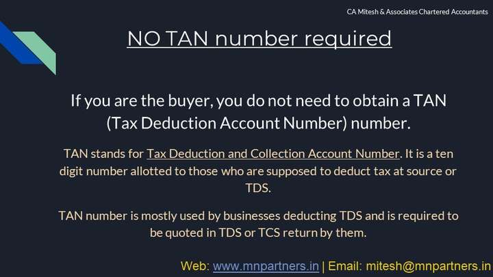 NRI Tax Advisor view for TDS on Sale of Property