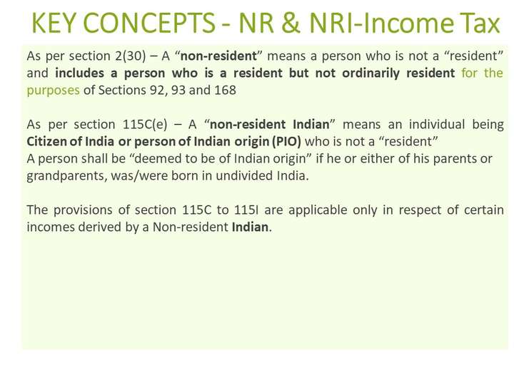 NRI and Income Tax implications | CA for NRIs in Mumbai